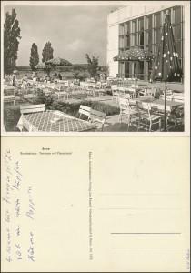 Bonn - Bundeshaus mit Plenarsaal, Wolfgang-Koeppen-Archiv Greifswald